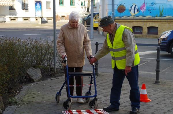 hatte die Leipziger Verkehrswacht gute Tips und Hilfestellungen auf Lager!